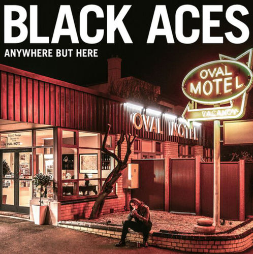 BLACK ACES - ANYWHERE BUT HERE - CD