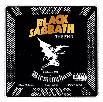 BLACK SABBATH - THE END - 2CD