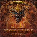 GAMMA RAY - HELL YEAH!!! THE AWESOME FOURSOME-LIVE MONTREAL - 2CD