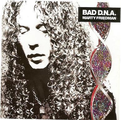 MARTY FRIEDMAN - BAD D.N.A. - CD