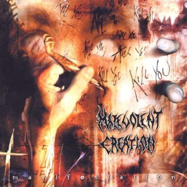 MALEVOLENT CREATION - MANIFESTATION - CD-DIGIPACK