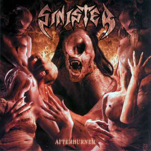 SINISTER - AFTERBURNER - CD-DIGIPACK