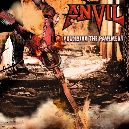 ANVIL - POUNDING THE PAVEMENT - CD