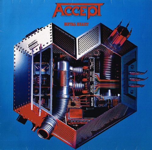 ACCEPT - METAL HEART - CD (Remastered )