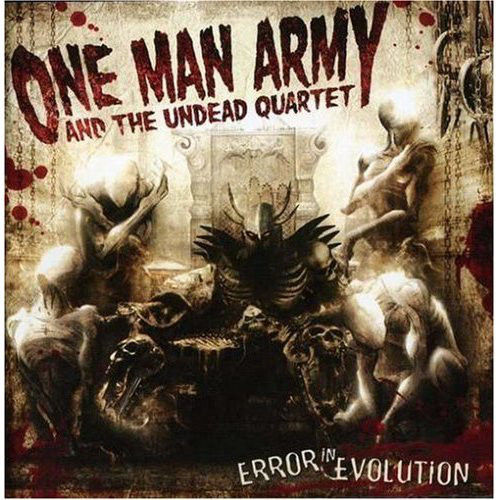 ONE MAN ARMY AND THE UNDEAD QUARTET-ERROR IN EVOLUTION - CD DIGIPACK