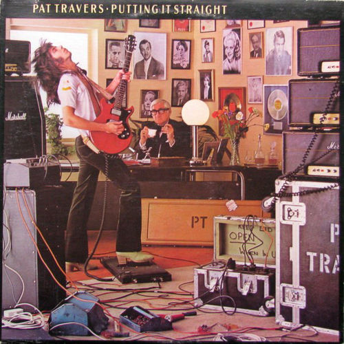 PAT TRAVERS - PUTTING IT STRAIGHT - CD