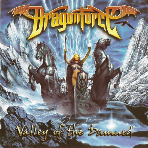DRAGONFORCE - VALLEY OF THE DAMNED CD