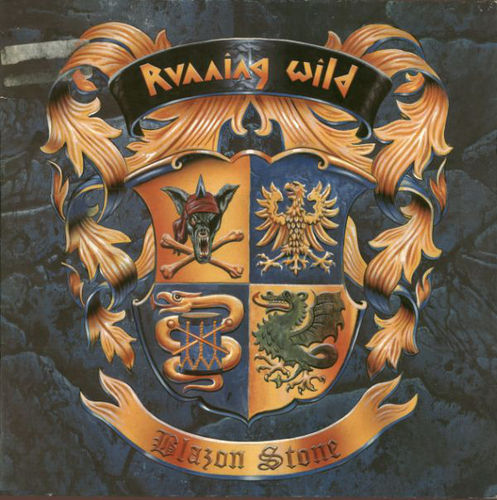 RUNNING WILD - BLAZON STONE CD