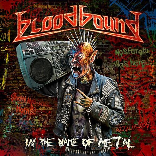 BLOODBOUND - IN THE NAME OF METAL CD (Digipack)