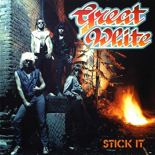 GREAT WHITE - STICK IT CD