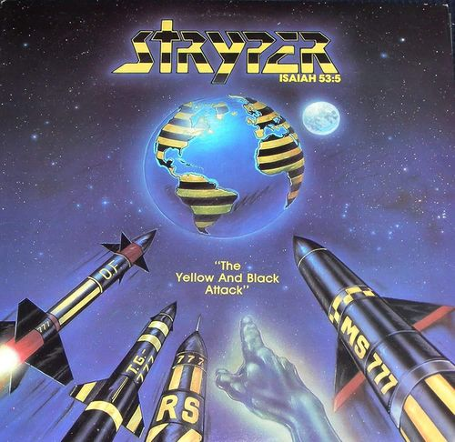 STRYPER - THE YELLOW AND BLACK ATTACK CD